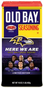 Old Bay releases new Ravens commemorative can