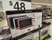700-watt microwave ovens are popular. This brand lets students change the faceplate color to suit their tastes.