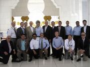 Members of the Tampa delegation in the UAE.