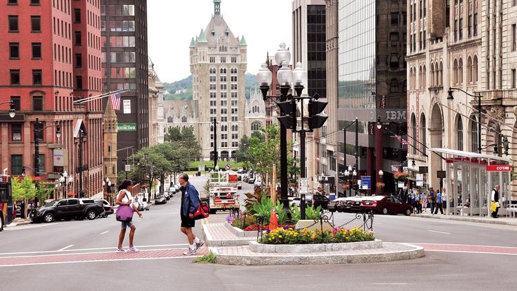 The board of directors of Capitalize Albany Corp., Albany, New York's economic development arm, released its strategic plan as the city and other municipalities prepare for a fall competition to win state government's $1.5 billion Upstate Revitalization Initiative.