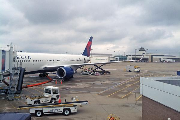 Cincinnati/Northern Kentucky International Airport flights departed and arrived on schedule more than 80 percent of the time in 2013, according to statistics from the Department of Transportation.