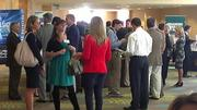 OBJ's Business of Sports event had time for networking on March 15 at the Hyatt Regency Orlando International Airport.