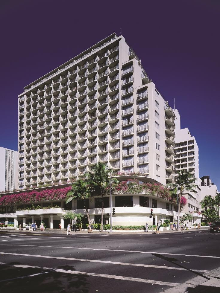 The Ohana Waikiki East By Outrigger Hotel Is Seen In This Courtesy Photo Hawaii