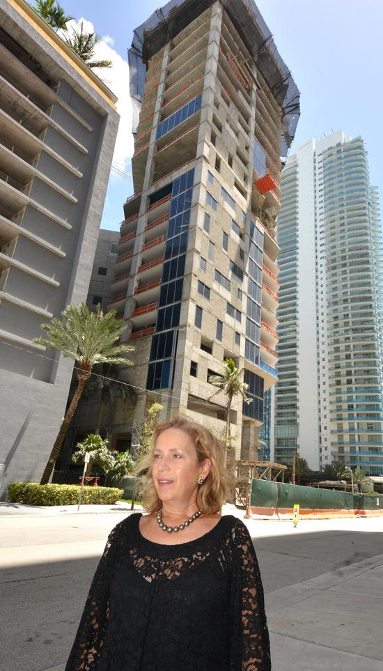 Alicia Cervera says billionaires are buying out millionaires' luxury units in the Brickell area.