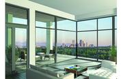 Rendering of the 250 Columbine project depicts the view from the seventh-floor penthouse.