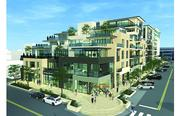 Rendering of the 250 Columbine project depicts the residences at the northwest corner at East Third Avenue and Columbine Street.