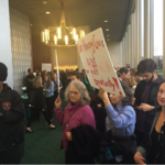 Protesters shut down Oakland business event in latest housing fight