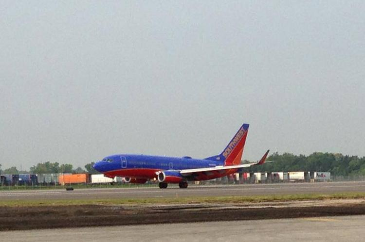 Port Columbus opened its new south runway this month, but the added capacity doesn't appear to be needed for awhile.
