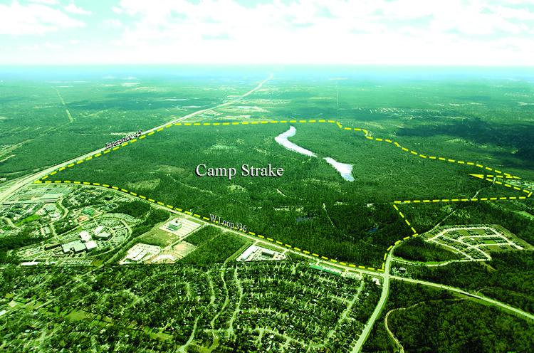 In one of Houston's largest land deals this year, Houston-based Johnson Development Corp. was the high bidder for the Sam Houston Area Council Boy Scouts of America's 2,083-acre property north of Houston, known as Camp Strake.