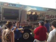 The Taste of Target Field food truck will broadcast Minnesota Twins games and sell ballpark fare, including Kramarczuk's sausages, nachos, Schweigert hot dogs, The Loon Cafe chili, a BBQ brisket sandwich, cheese curds and daily specials.