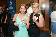ESP IT's Maggie Bollig (left) and Corinn van der Lugt. ESP was a 2013 Best Places to Work small company winner.