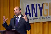 Nikolai Vitti, superintendent of Duval County Public Schools, speaks at Centreal Riverside Elementary School Thursday.