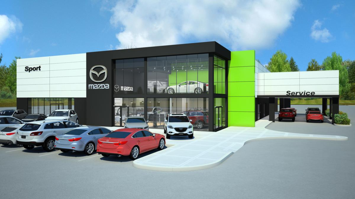 mazda rolls out store redesign mazda will debut new dealership design in minnesota minneapolis. Black Bedroom Furniture Sets. Home Design Ideas