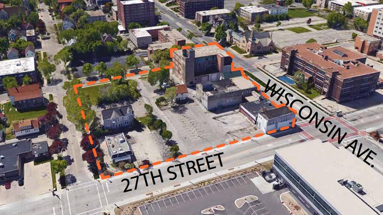 The Near West Side Partners on Monday will unveil development concepts for six properties, including land at 27th Street and Wisconsin Avenue.