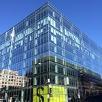 That really is the same building beneath all that glass at 20th and M streets NW