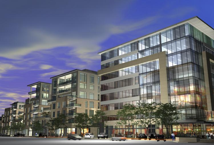 Rendering of 250 Columbine, Western Development Group's newest Cherry Creek North development.