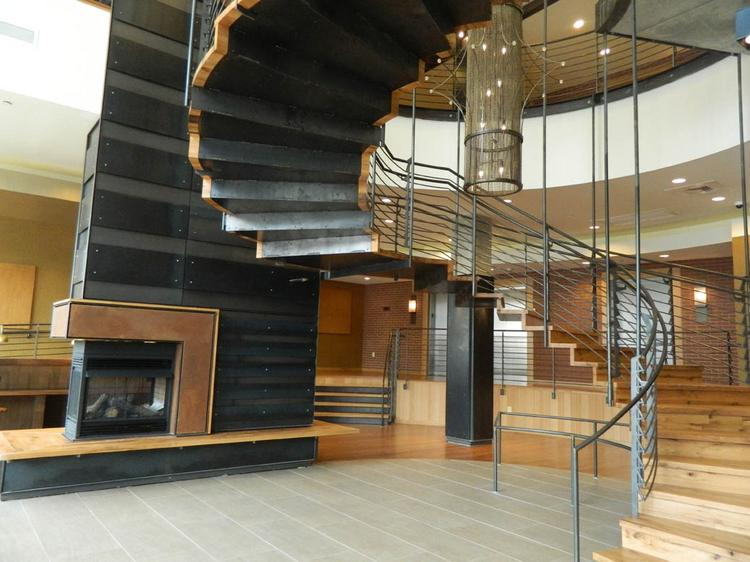 The lobby area of the new Granary building on N. 20th St. in Philadelphia.