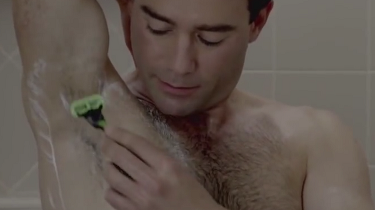P&G scientists link body odor to hairy armpits