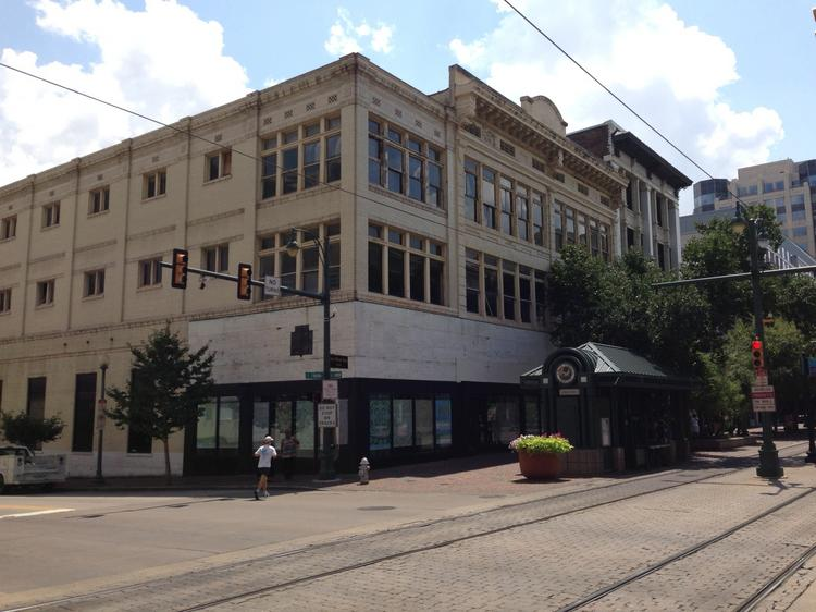 The building at Union and Main remains vacant despite a resurgence in the buildings surrounding it.