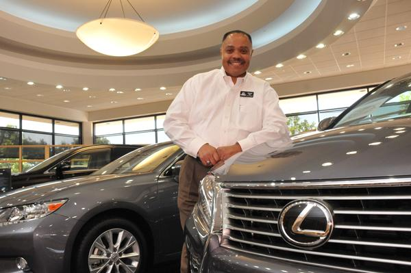 Charles J. Epps, new car sales manager for Lexus of Memphis