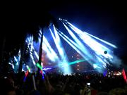 Part of the appeal is the massive light show that accompanies music.