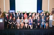 Finalists and winners of the Nashville Business Journal's 2013 Healthiest Employers awards at Loews Vanderbilt Hotel.