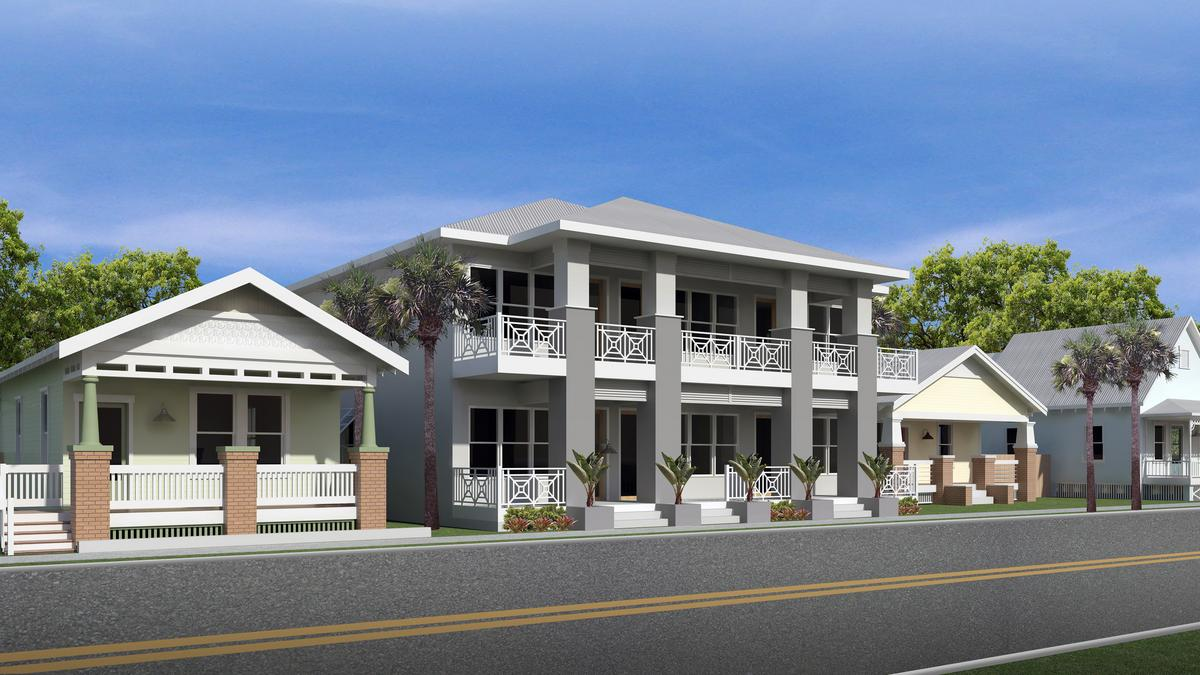 Tampa developer restoring historic ybor bungalows for Small home builders tampa