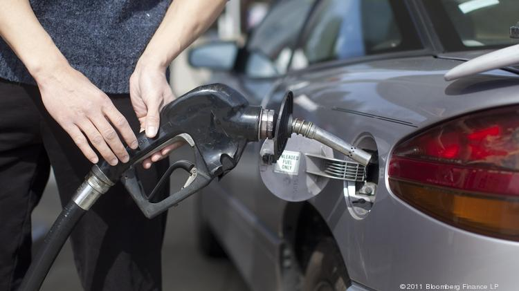 The average price for gasoline today in the Charlotte metro area is $3.25 per gallon for regular unleaded, virtually unchanged from a week ago, AAA says.