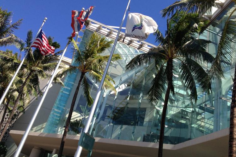 The Hawaii Convention Center opened in 1998.