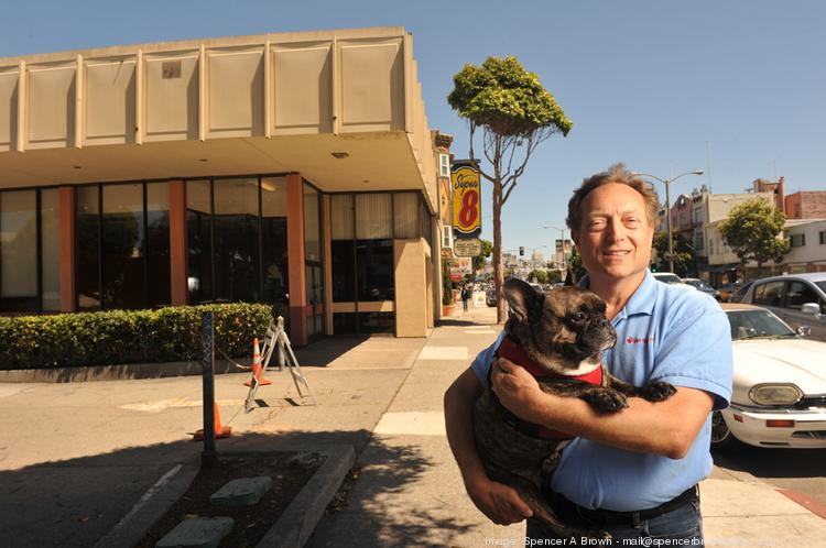 """""""We're not allowed to expand here anymore because we have been too successful,"""" says Pet Food Express founder Michael Levy, who was denied in his attempts to open a fourth San Francisco location in a former Blockbuster Video location."""