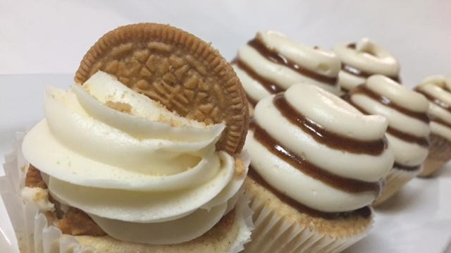 A sampling of cupcakes from Sugar Vault Desserts, opening later this spring in Hyattsville.