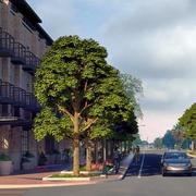 Point of view: how the streets in Billy Mitchell Village would be laid out under the redevelopment plan.