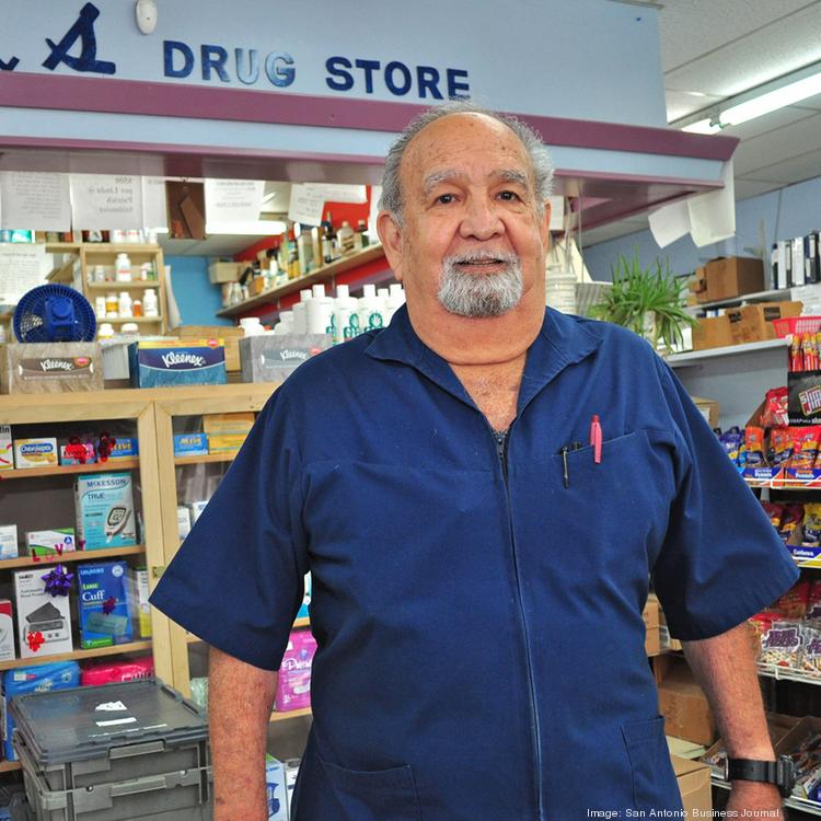 Arthur Siller continues to deliver personal service to his customers at Hill's Drug Store.