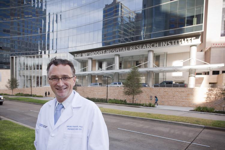 Dr. Mauro Ferrari, president and CEO of The Methodist Research Institute in Houston Click through for more data about cancer research and treatment.