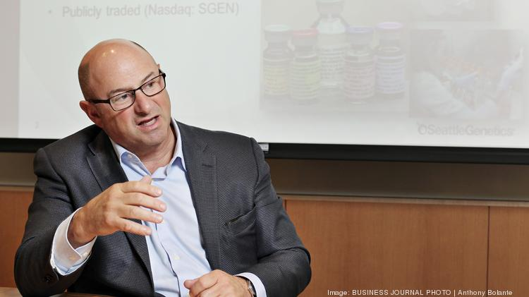 Clay Siegall, founder and CEO of Seattle Genetics. Siegall said the company will hire about 120 people in 2016.