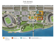 This map shows Phase I of The Banks. Phase IIA will be developed on Lot 2.