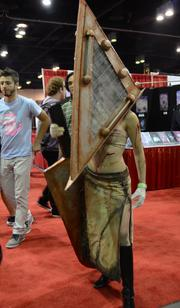 Pyramid Head - another Silent Hill alumni.
