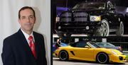 James Zboril, president of Tavistock Development Co., drives a Dodge pickup daily and a Porsche on the weekends.