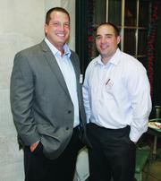 Target Freight Management's Mike Wagner, left, and TJ Henderson.