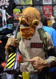 Ackbar Ghostbuster says something about a trap.