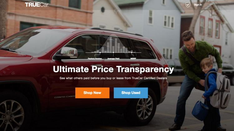 See What Others Paid For Cars >> Truecar Overhauls Website To Improve Service For Dealers Customers