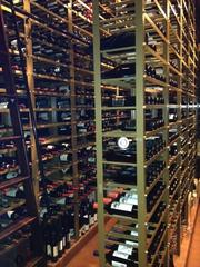 The Capital Grille's wine cellar features more than 5,000 bottles on display.