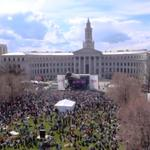 Giant downtown Denver pot rally set for April