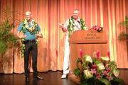 From left, Sheraton Waikiki General Manager Kelly Sanders has been named area managing director of Starwood Hotels & Resorts' Waikiki properties; Keith Vieira, Starwood's senior vice president of operations for Hawaii and French Polynesia, retires in November.