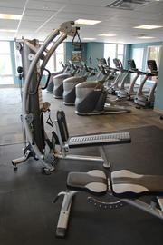 A gym is also available to residents of the apartments at U Square.