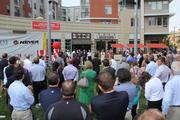 The ribbon cutting marked the official opening of U Square @ The Loop.