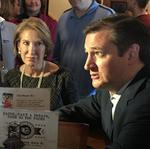 Ted Cruz, <strong>Carly</strong> <strong>Fiorina</strong> take pit stop at Sobelman's: Slideshow
