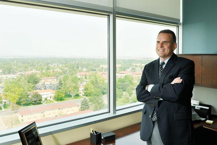 Rulon Stacey, formerly of University of Colorado Health, became CEO of Fairview Health Services on Nov. 4.