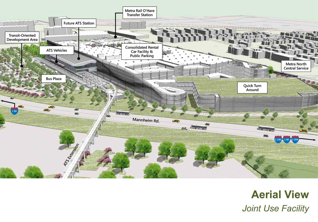 O Hare Parking >> O Hare Airport Set For New Rental Car And Parking Structure