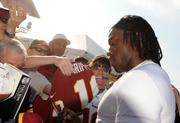 RGIII must choose his clothing more carefully, according to the NFL, as they fined him $10,000.